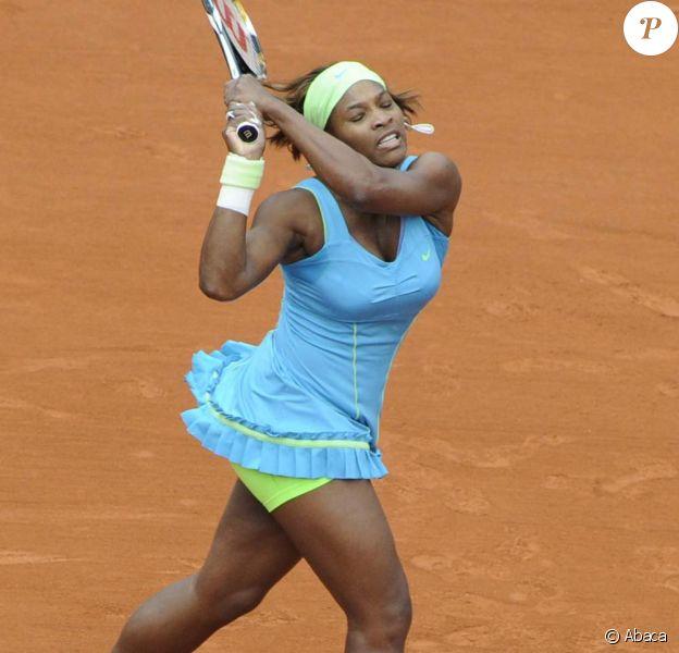 Serena Williams, Roland Garros, 31 mai 2010