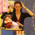 Jennifer Garner entraîne sa fille Violet Affleck dans une séance shopping après l'école le 1er juin 2010 à Los Angeles