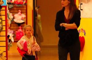Jennifer Garner : Après l'école, sa petite Violet devient... une serial-shoppeuse !
