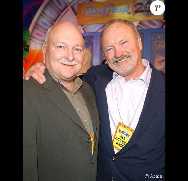 Scott Abbott et Chris Haney, inventeurs du Trivial Pursuit en septembre 2002