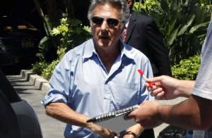 Quand Dustin Hoffman embrasse à pleine bouche Jason Bateman, ce n'est pas du cinéma !