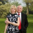 Mikhaïl Gorbatchev et sa fille Irina Virganskaya lors du 5e gala de charité annuel organisé par la Raisa Gorbatchev Foundation, qui s'est tenu au Stud House d'Hampton Court Palace, au sud de Londres, le 5 juin 2010.