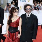 Helena Bonham Carter avec son bien-aimé Tim Burton : moins fantasque que d'habitude... et déçue !