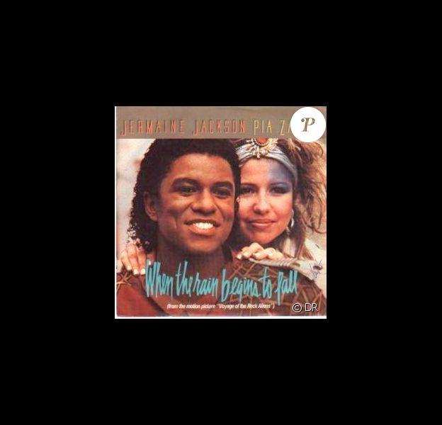Pia Zadora et Jermaine Jackson - When the rain begins to fall