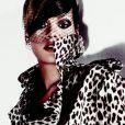 Rihanna dans le shooting du magazine ELLE US du mois de juillet 2010