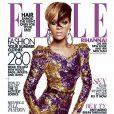 Rihanna en couverture du ELLE US du mois de juillet 2010
