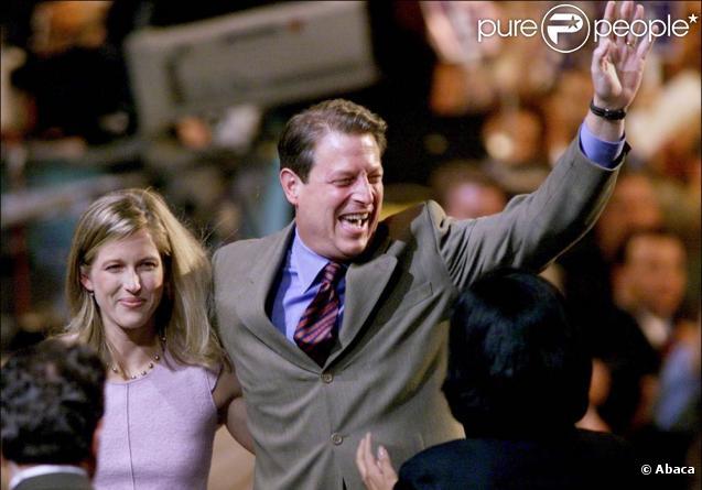 Al Gore et sa fille Karenna