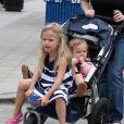 Violet et Seraphina, les filles de Jennifer à Los Angeles (6 juin 2010)