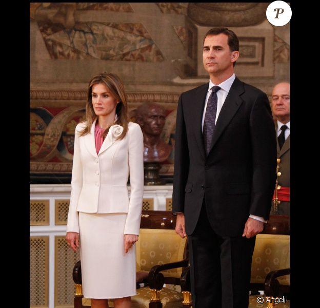 Letizia d'Espagne et Felipe ont célébré le 25e anniversaire de l'intégration de l'Espagne. Le 13 juin 2010