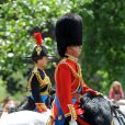 Parade Trooping the Colour, le 12 juin 2010, à Londres.