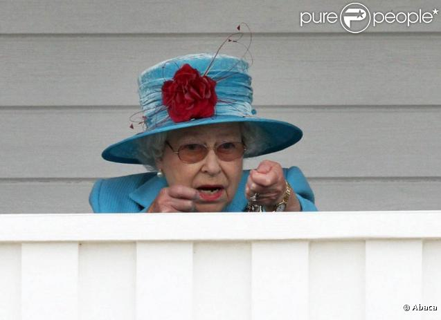 Elizabeth II à la Queen Elizabeth II Cup. Le 13 juin 2010
