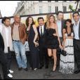 Stéphane Rousseau, Fabrice Eboué, Jérôme Le Banner, Armelle, Michaël Youn, Isabelle Funaro, Vincent Desagnat, Reem Kherici et Ary Abittan lors de l'avant-première du film Fatal à Paris le 14 juin 2010