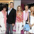 Anne Cassel, Lambert Wilson, Cyrielle Clair, Marc Lelandais et Béatrice Rosen à la soirée Lancel organisée pour le lancement du BB Bag, le 14 juin 2010