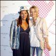 Hermine de Clermont-Tonnerre et Hélène de Yougoslavie à la soirée Lancel organisée pour le lancement du BB Bag, le 14 juin 2010