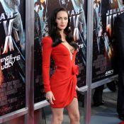 Megan Fox : une femme fatale très décolletée et de nouveau fiancée !