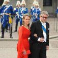 Samedi 19 juin 2010 : Le mariage de la princesse Victoria de Suède et de Daniel Westling, apothéose de leur conte de fées, a été béni par un incroyable cortège de royaux. Laurent et Claire de Belgique.