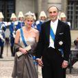 Samedi 19 juin 2010 : Le mariage de la princesse Victoria de Suède et de Daniel Westling, apothéose de leur conte de fées, a été béni par un incroyable cortège de royaux. Astrid et Lorenz de Belgique.