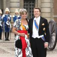 Samedi 19 juin 2010 : Le mariage de la princesse Victoria de Suède et de Daniel Westling, apothéose de leur conte de fées, a été béni par un incroyable cortège de royaux. Constantin et Laurence des Pays-Bas.