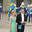 Samedi 19 juin 2010 : Le mariage de la princesse Victoria de Suède et de Daniel Westling, apothéose de leur conte de fées, a été béni par un incroyable cortège de royaux. Cristina d'Espagne et Iñaki Urdangarin.
