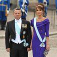 Samedi 19 juin 2010 : Le mariage de la princesse Victoria de Suède et de Daniel Westling, apothéose de leur conte de fées, a été béni par un incroyable cortège de royaux. Rania et Abdullah de Jordanie