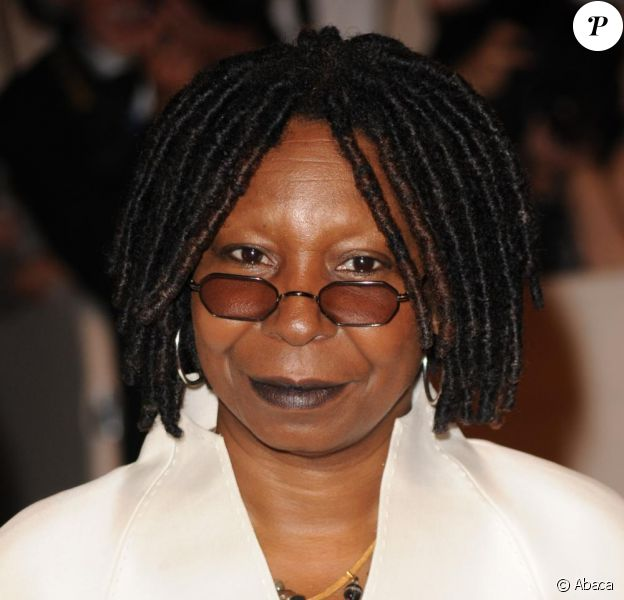 L'actrice afro-américaine Whoopi Goldberg