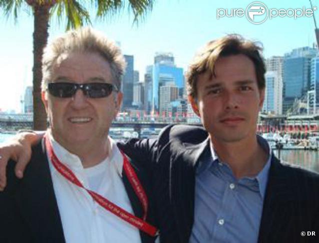 Peter Ikin et son compagnon Alexandre Despallières