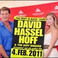 David Hasselhoff et sa fille Taylor Ann à Vienne pour une émission télé le 5 juillet 2010