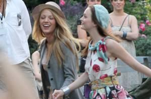 Looks de la semaine spécial Gossip Girl : Leighton Meester et Blake Lively... Deux beautés à la pointe de la mode !