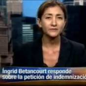 Ingrid Betancourt : Au bord des larmes pour tenter de se justifier auprès des Colombiens...