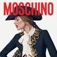 Alessandra Ambrosio pour Moschino