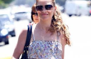 Rebecca Gayheart a retrouvé le sourire et affiche une mine parfaite... et sans maquillage !