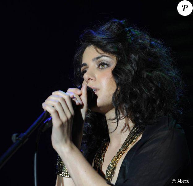 Katie Melua : la jolie Britannique assurait le samedi 17 juillet 2010 la clôture du festival de Montreux