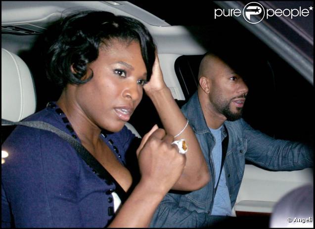 Serena Williams et Common (photo : en 2008) ont rompu en avril 2010 après un peu plus de deux ans de relation. Mais leur histoire est-elle finie ?