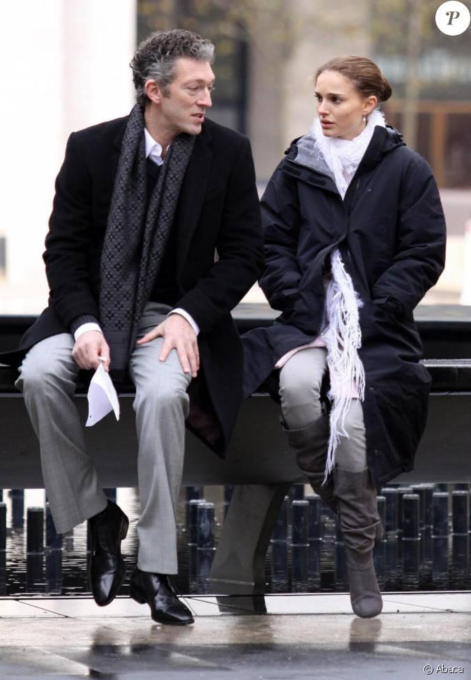 Natalie Portman et Vincent Cassel sur le tournage de Black ...