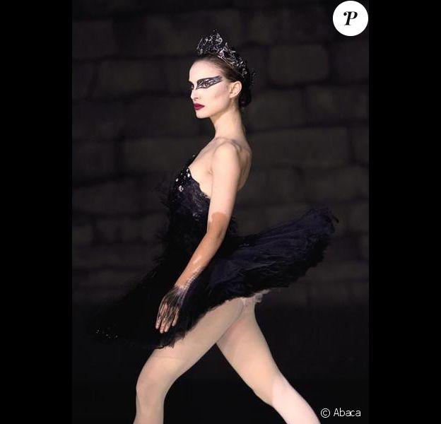 Natalie Portman sur le tournage de Black Swan