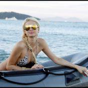 Paris Hilton : Après avoir pris une douche de champagne, la jolie blonde et sa soeur se pavanent à Saint-Tropez !