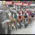 Arrivée des coureurs à la dernière étape du Tour de France sur les Champs-Elysées (25 juillet 2010)