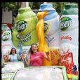 Les caravanes publicitaires pour l'arrivée du Tour de France sur les Champs-Elysées (25 juillet 2010)