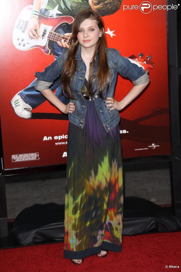 Abigail Breslin le 27 juillet 2010