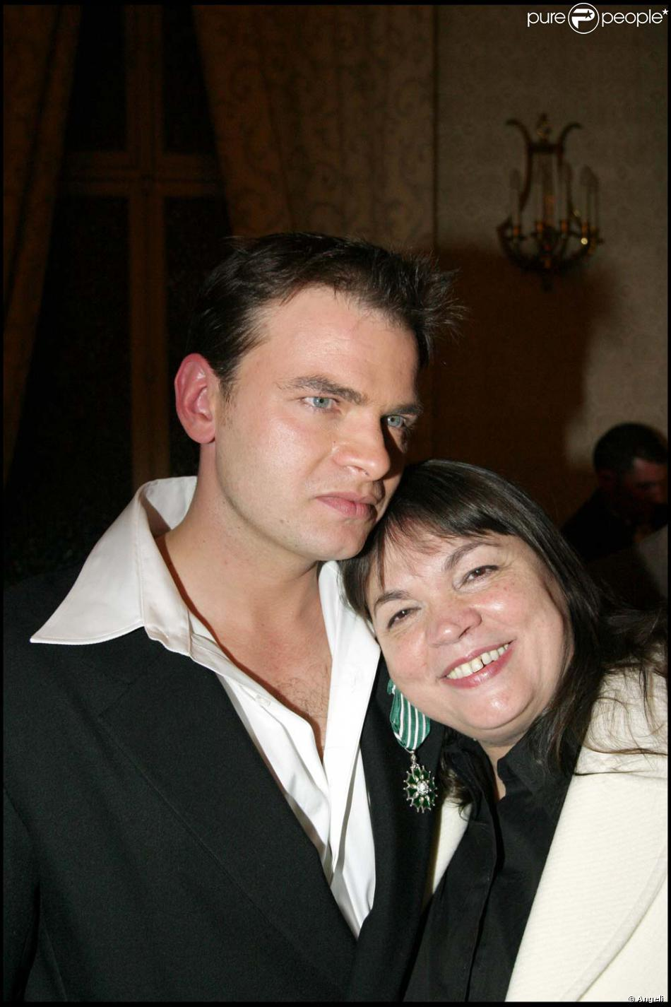 Myriam Boyer et son fils Clovis Cornillac