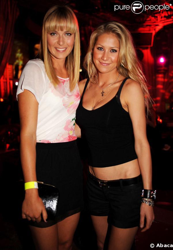 Maria Sharapova et Anna Kournikova