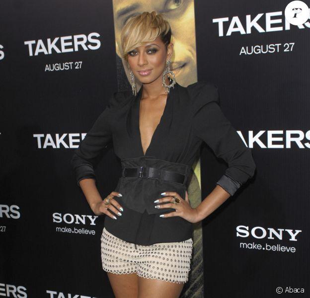 Keri Hilson lors de l'avant-première de Takers à Los Angeles le 4 août 2010