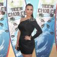Kim Kardashian à l'occasion des Teen Choice Awards 2010, qui se sont tenus au Gibson Amphitheater d'Universal City, au nord de Los Angeles, en Californie, le 8 août 2010.