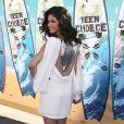 La ravissante Selena Gomez à l'occasion des Teen Choice Awards 2010, qui se sont tenus au Gibson Amphitheater d'Universal City, au nord de Los Angeles, en Californie, le 8 août 2010.