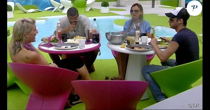 Le clan des winners s 39 offre un d ner dans le jardin dans for Diner dans un jardin paris