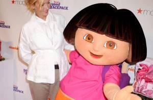 Uma Thurman se fait voler la vedette par une petite fille géante !