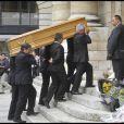 Le cercueil de Bruno Cremer