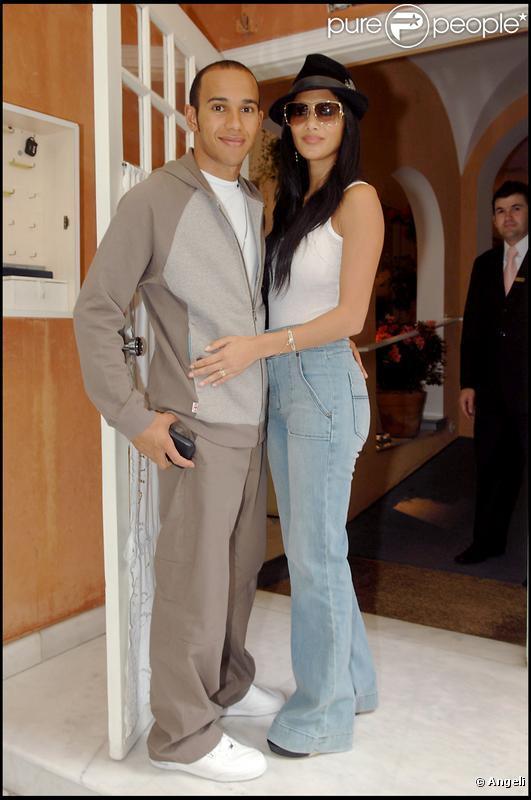 Nicole Scherzinger et Lewis Hamilton