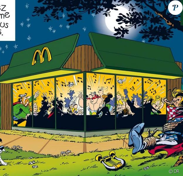 Astérix pour McDonald's