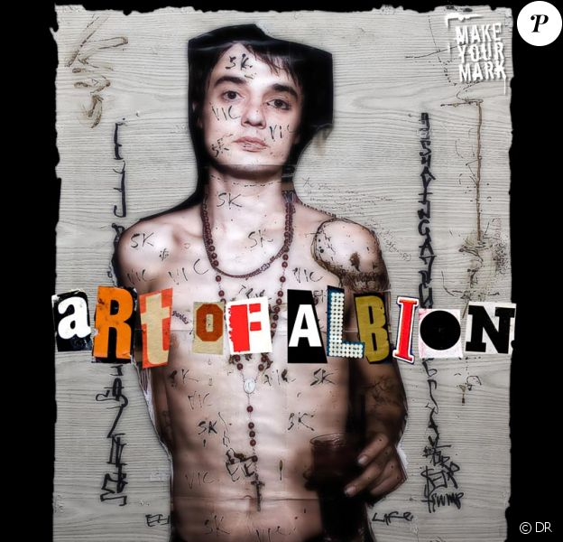 Pete Doherty expose son art à Paris : Art of Albion